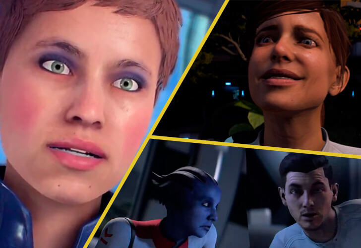 mass effect face